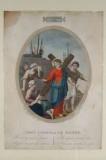 Agricola L. - Gabrieli A. sec. XIX, Via crucis con Gesù consola le donne