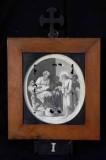 Ambito romano sec. XVIII, Cornice Gesù Cristo condannato a morte