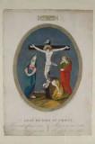 Agricola L. - Bellavitis G. sec. XIX, Via crucis con Gesù morto in croce