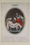 Agricola L. - Gabrieli A. sec. XIX, Via crucis con Gesù deposto nel sepolcro