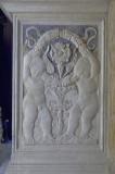 Agostino di Duccio (1449-1456), Bassorilievo angeli con festoni