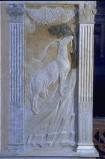 Agostino di Duccio (1454-1457), Bassorilievo con segno zodiacale del Capricorno