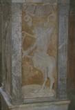 Agostino di Duccio (1454-1457), Bassorilievo con segno zodiacale del Sagittario