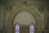 Agostino di Duccio (1454-1457), Mostra di arco della cappella dei Pianeti