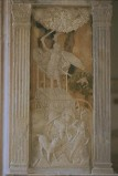 Agostino di Duccio (1454-1457), Bassorilievo con il pianeta Mercurio