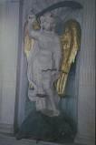 Agostino di Duccio (1452-1453), Statua San Michele arcangelo