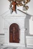 Ambito Italia centrale sec. XX, Tabernacolo dell'altare del rosario