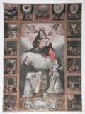 Scuola Italia centrale (1641), Dipinto con Madonna del rosario