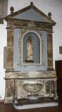 Ambito Italia centrale sec. XIX, Altare laterale con timpano triangolare 1/2