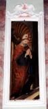 Maestranze toscane sec. XVIII, Cornice in stucco di Sant'Agostino