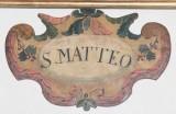 Bott. italiana fine sec. XVI-inizio sec. XVII, Targa in legno sagomato 3/12
