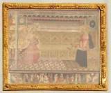 Casini Lodovico-Chiari Raffaello (1596), Cornice in legno intagliato e dorato