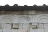Ambito pisano sec. XIII, Peduccio marmoreo inciso