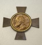 Ambito italiano sec. XX, Croce stazionale con Volto Santo 3/14