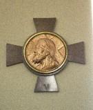 Ambito italiano sec. XX, Croce stazionale con Volto Santo 5/14