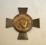 Ambito italiano sec. XX, Croce stazionale con Volto Santo 12/14