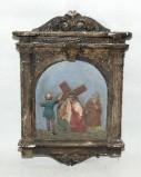 Ambito italiano sec. XX, Via Crucis di Gesù asciugato dalla Veronica