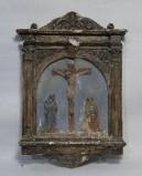 Ambito italiano sec. XX, Via Crucis di Gesù morto in croce