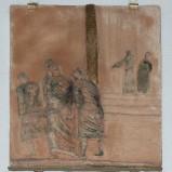 Ambito toscano sec. XX, Via Crucis di Gesù condannato a morte
