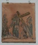 Ambito toscano sec. XX, Via Crucis di Gesù che consola le pie donne