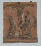 Ambito toscano sec. XX, Via Crucis di Gesù morto in croce