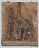 Ambito toscano sec. XX, Via Crucis di Gesù deposto dalla croce