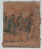 Ambito toscano sec. XX, Via Crucis di Gesù deposto nel sepolcro