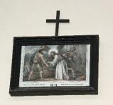 Ambito francese sec. XX, Stampa di Gesù Caricato della croce