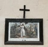 Ambito francese sec. XX, Stampa di Gesù che consola le pie donne