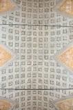 Ambito toscano sec. XIX, Dipinto murale a lacunari