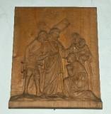 Belluomini A. sec. XX, Scultura di Gesù che consola le pie donne
