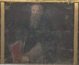 Ambito toscano sec. XVII, Dipinto di Sant'Antonio abate