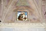 Ambito toscano sec. XIX, Dipinto murale con mostra di finestra 1/3