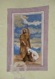 Ambito toscano sec. XIX, Dipinto murale di San Rocco