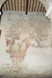 Ambito toscano sec. XIII, Dipinto murale dell'Annunciazione