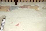 Ambito toscano sec. XIII, Dipinto murale con quadrati policromi