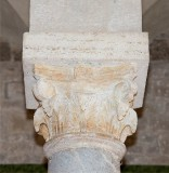 Ambito pisano sec. XII, Capitello marmoreo