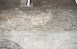Ambito pisano sec. XIII, Dipinto murale con semicerchio