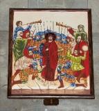Ambito italiano sec. XXI, Dipinto di Gesù condannato a morte