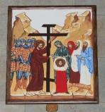 Ambito italiano sec. XXI, Dipinto di Gesù asciugato dalla Veronica