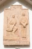 Ambito italiano sec. XX, Formella di Gesù condannato a morte