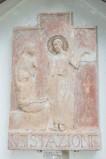 Ambito italiano sec. XX, Formella di Gesù che consola le pie donne