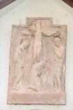 Ambito italiano sec. XX, Formella di Gesù morto in croce