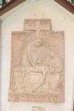 Ambito italiano sec. XX, Formella di Gesù deposto dalla croce