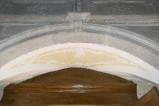 Ambito toscano sec. XVIII, Scultura con volute e foglie 2/3