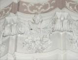 Ambito toscano sec. XVIII, Capitello con festoni e frutta 13/24