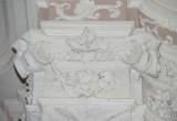 Ambito toscano sec. XVIII, Capitello con festoni e frutta 18/24