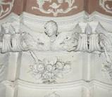 Ambito toscano sec. XVIII, Capitello con festoni e frutta 20/24