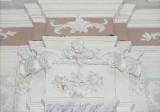 Ambito toscano sec. XVIII, Capitello con festoni e frutta 3/24
