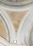 Ademollo L. sec. XIX, Frammento di dipinto murale con angelo